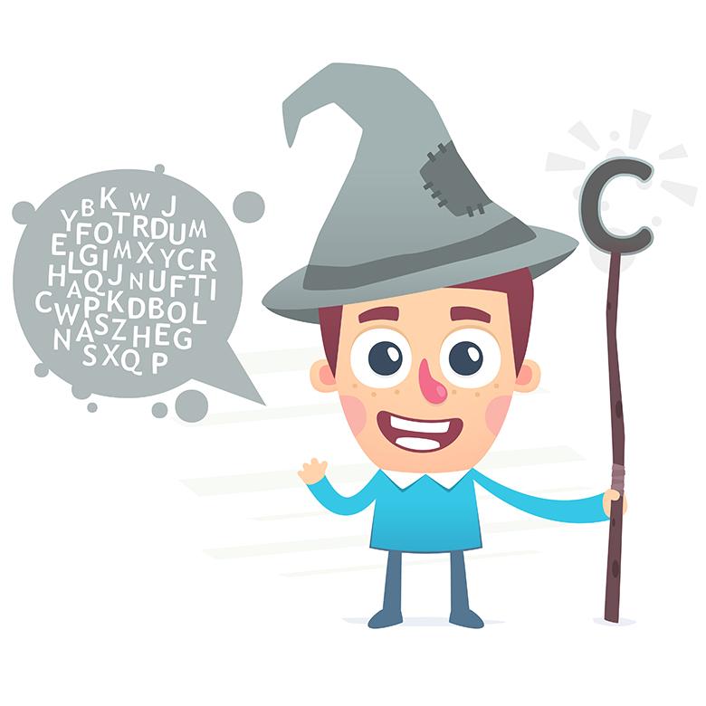 Čaroděj - ilustrace